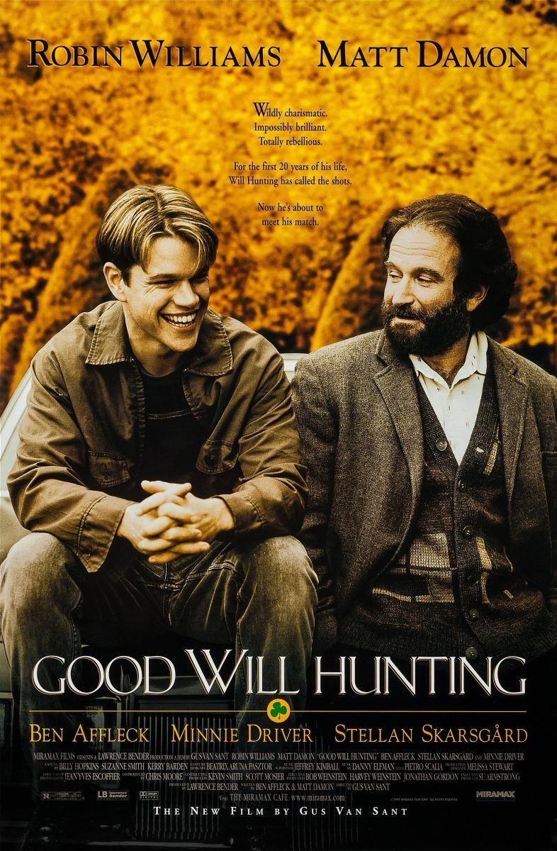 El indomable Willl Hunting Imagen 1